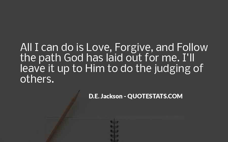 Quotes About Judging Others #1007787