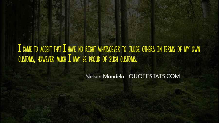 Quotes About Judging Others #10812