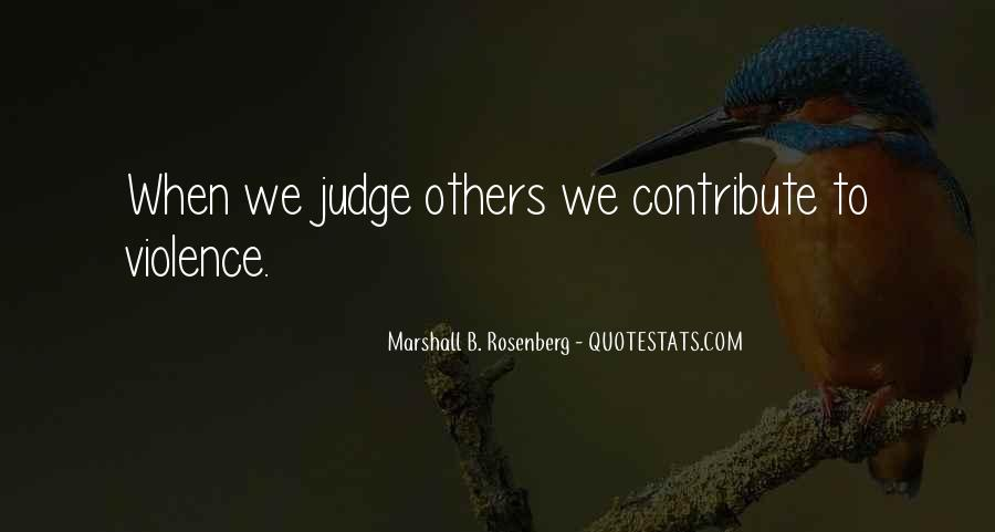 Quotes About Judging Others #28587