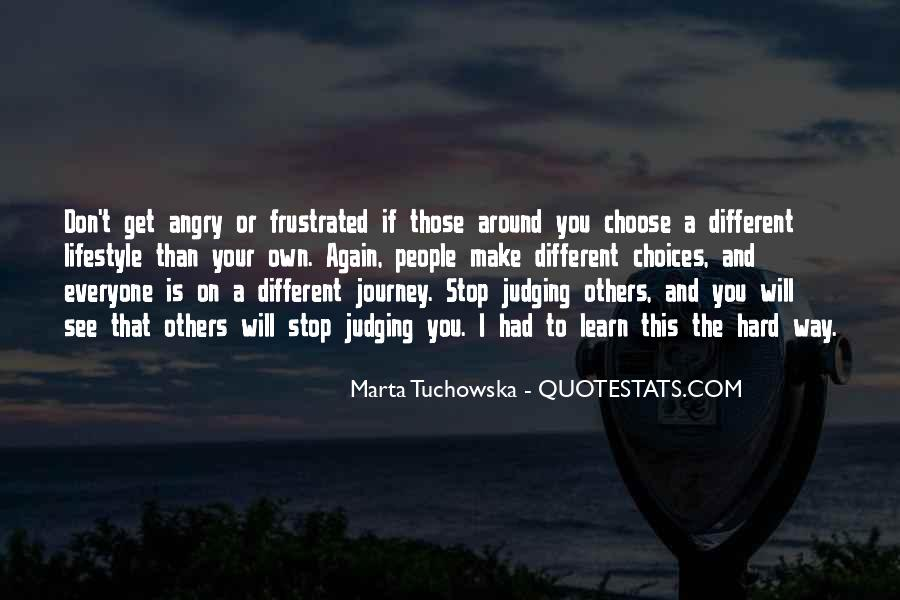 Quotes About Judging Others #373443