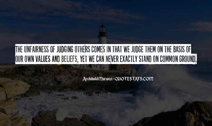 Quotes About Judging Others #412203