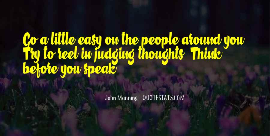 Quotes About Judging Others #776700