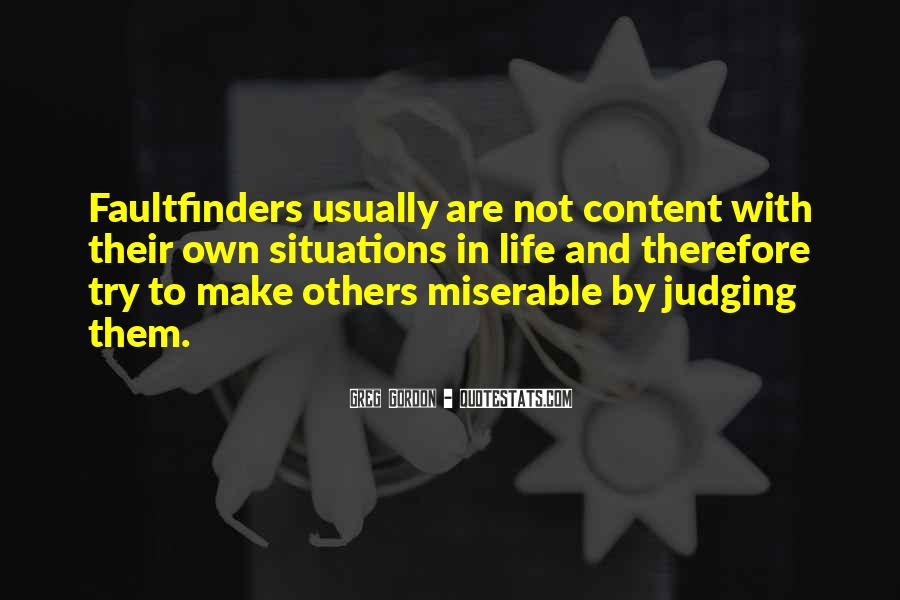 Quotes About Judging Others #777376