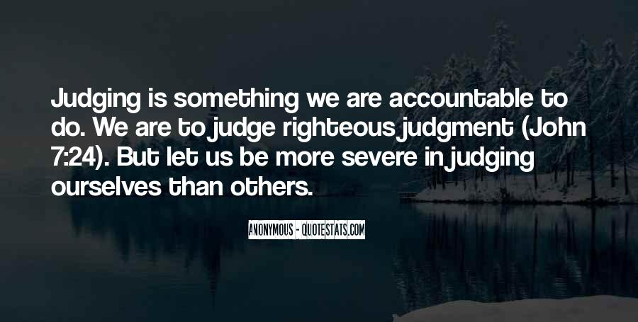 Quotes About Judging Others #991615
