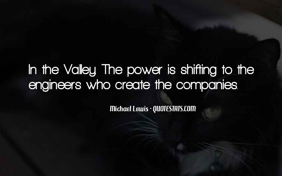 Quotes About Shifting Power #1678223