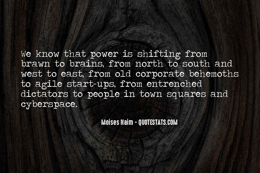 Quotes About Shifting Power #507627