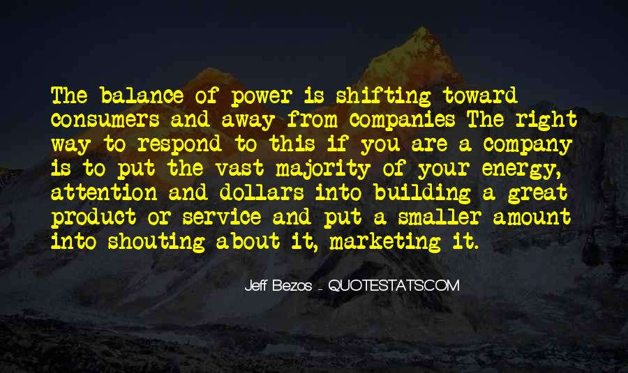 Quotes About Shifting Power #808686