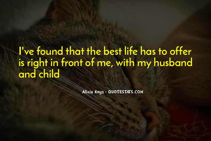 Quotes About The Best Husband #277419