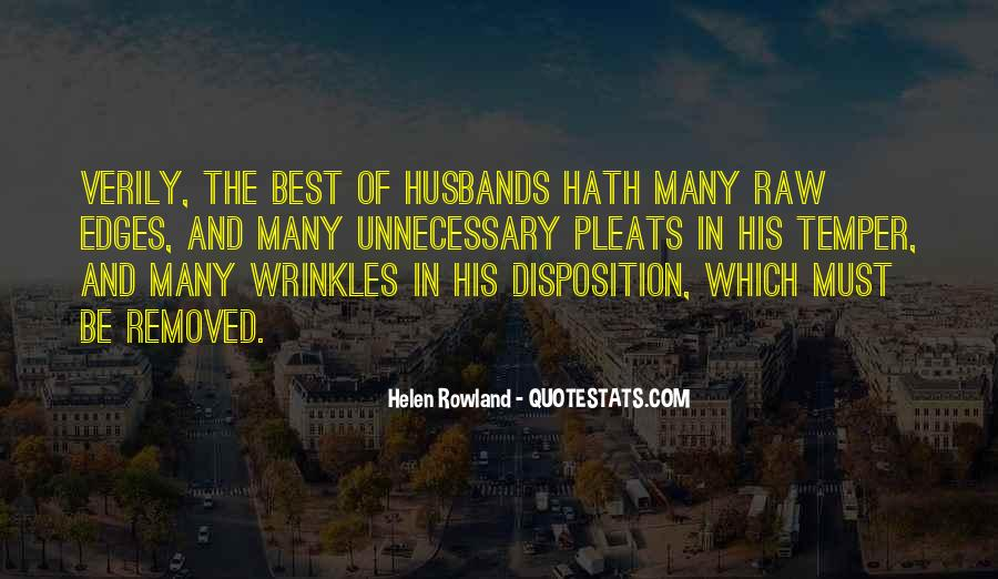 Quotes About The Best Husband #557843