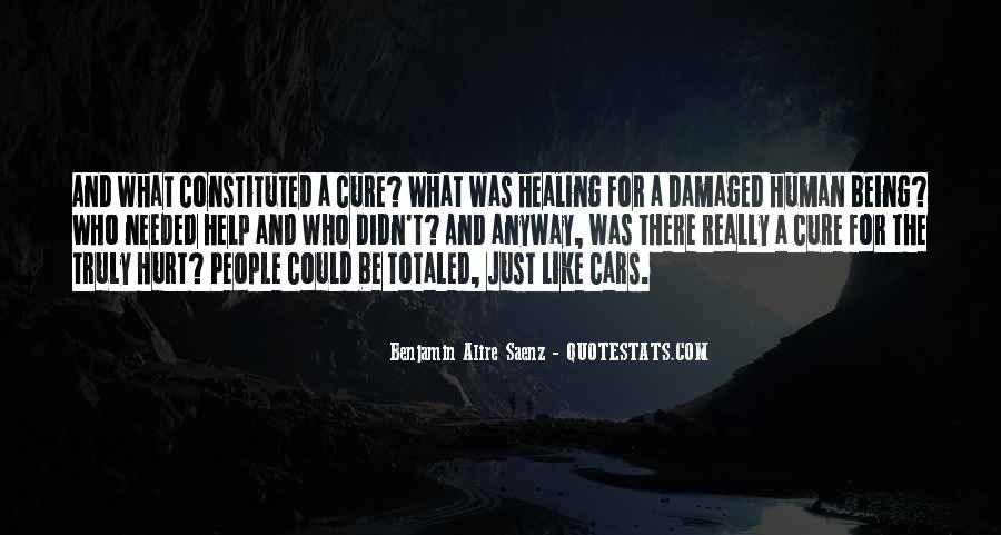 Quotes About Being Damaged #1862870