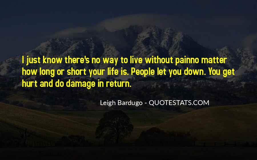 Quotes About How Short Life Is #231755