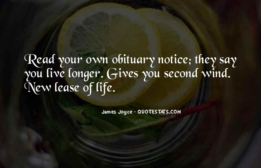 Quotes About New Lease On Life #491369
