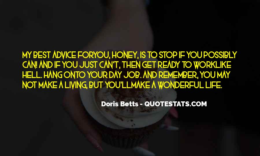 Quotes About Honey #16085