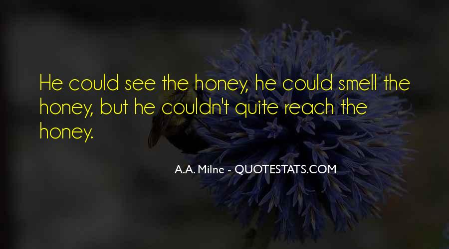 Quotes About Honey #17253