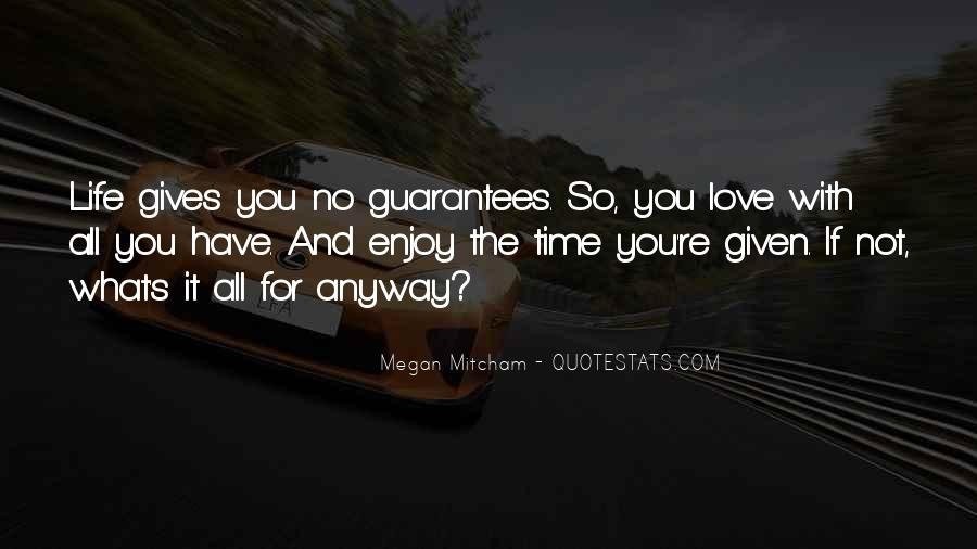 Quotes About No Time For Love #159614