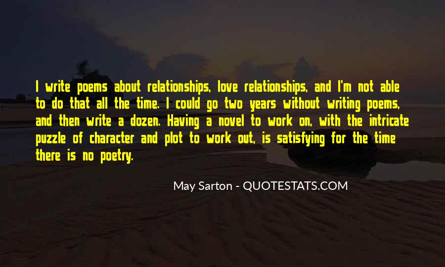 Quotes About No Time For Love #188547