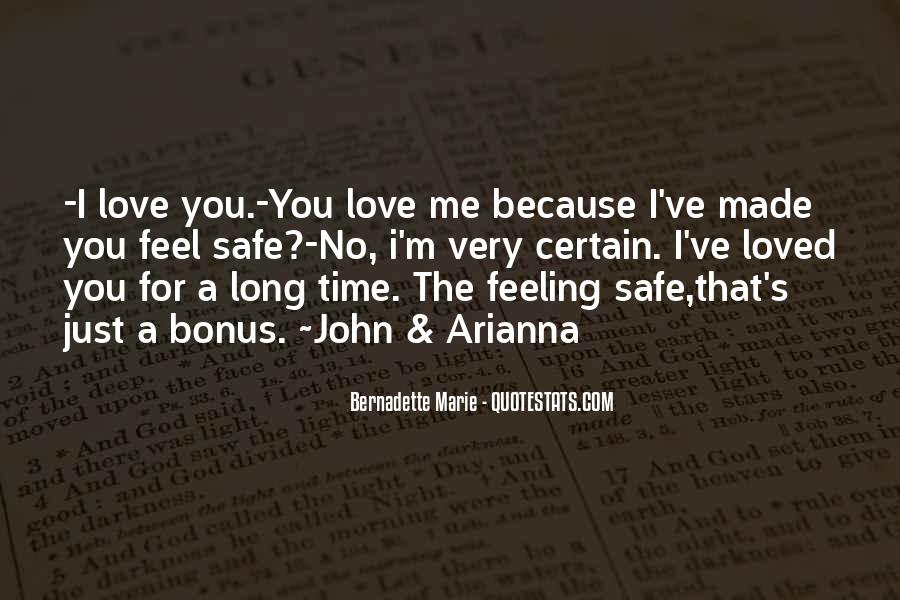 Quotes About No Time For Love #389402