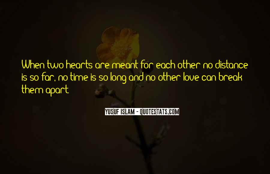 Quotes About No Time For Love #411255