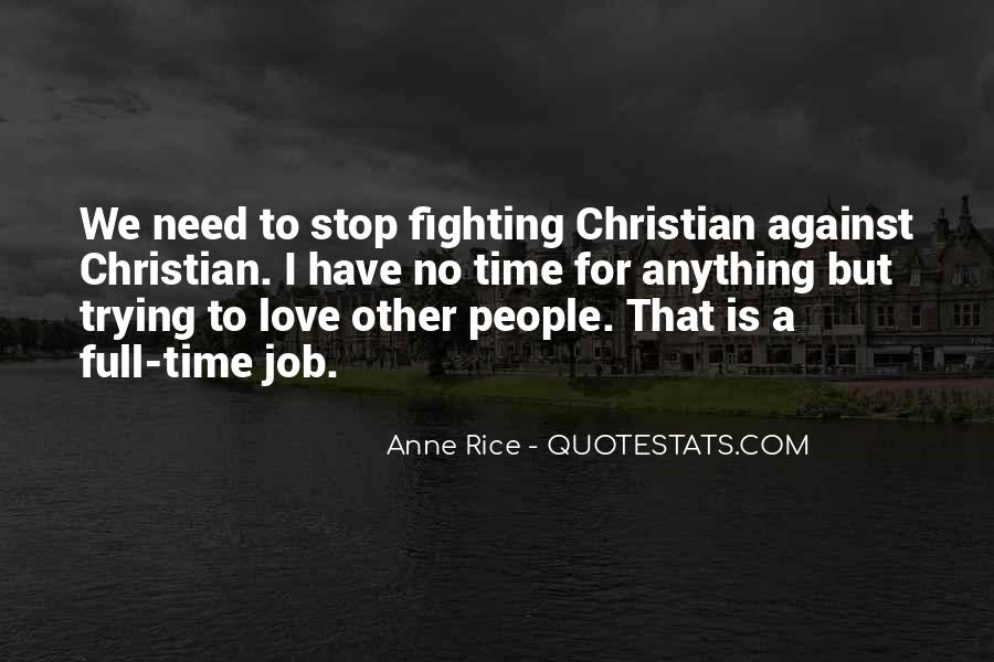 Quotes About No Time For Love #816384