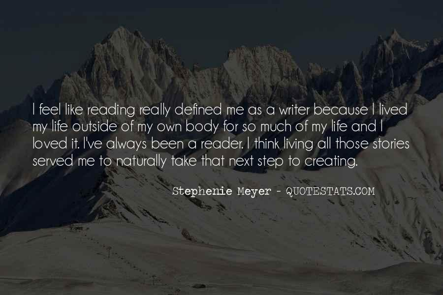 Quotes About A Writer's Life #104703
