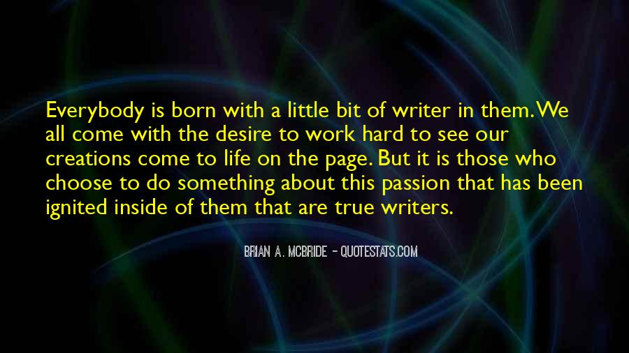 Quotes About A Writer's Life #110760