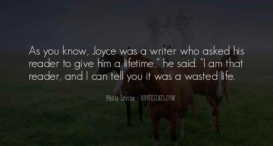 Quotes About A Writer's Life #117803