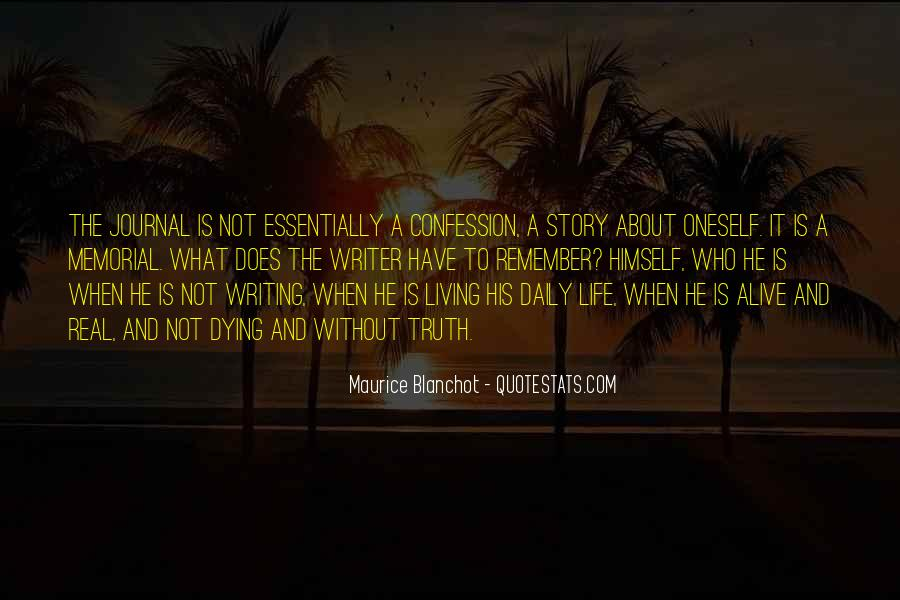 Quotes About A Writer's Life #142808