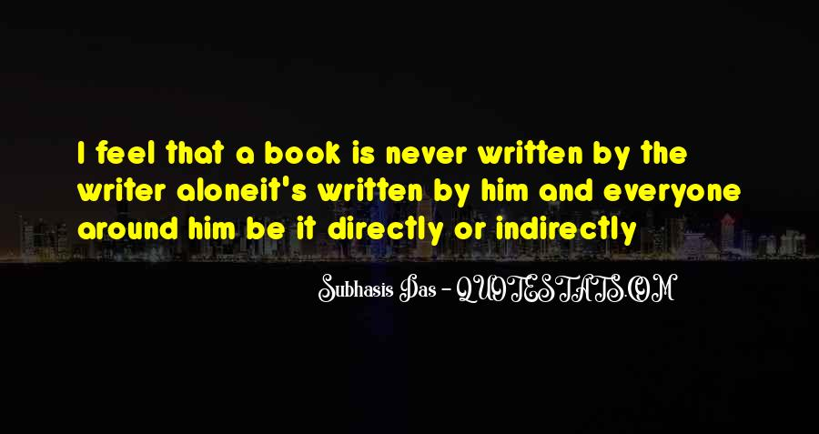 Quotes About A Writer's Life #14286