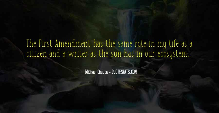 Quotes About A Writer's Life #153424