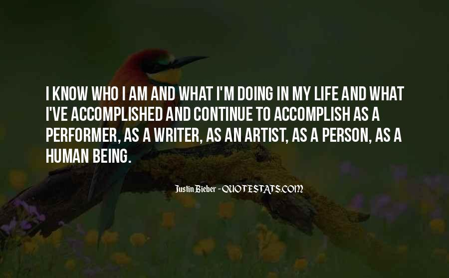 Quotes About A Writer's Life #181919