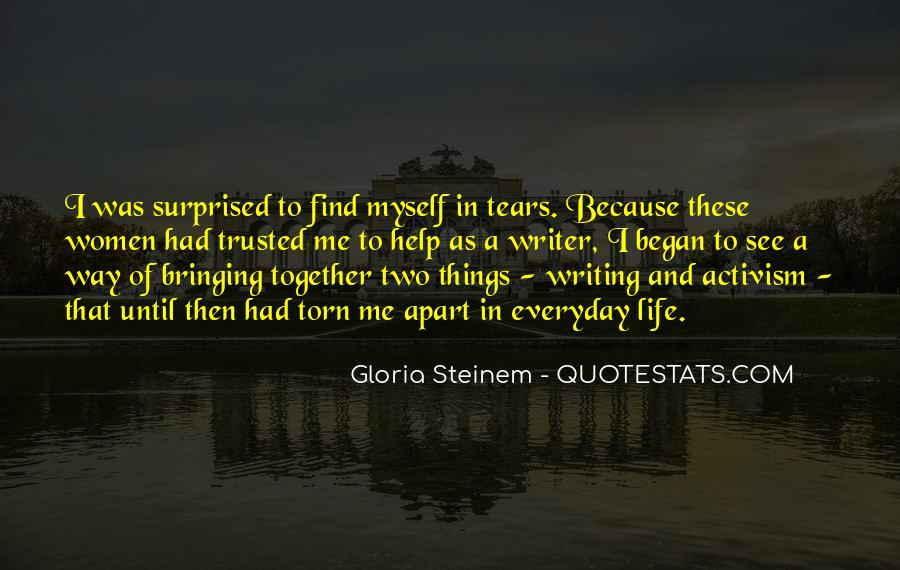 Quotes About A Writer's Life #183214