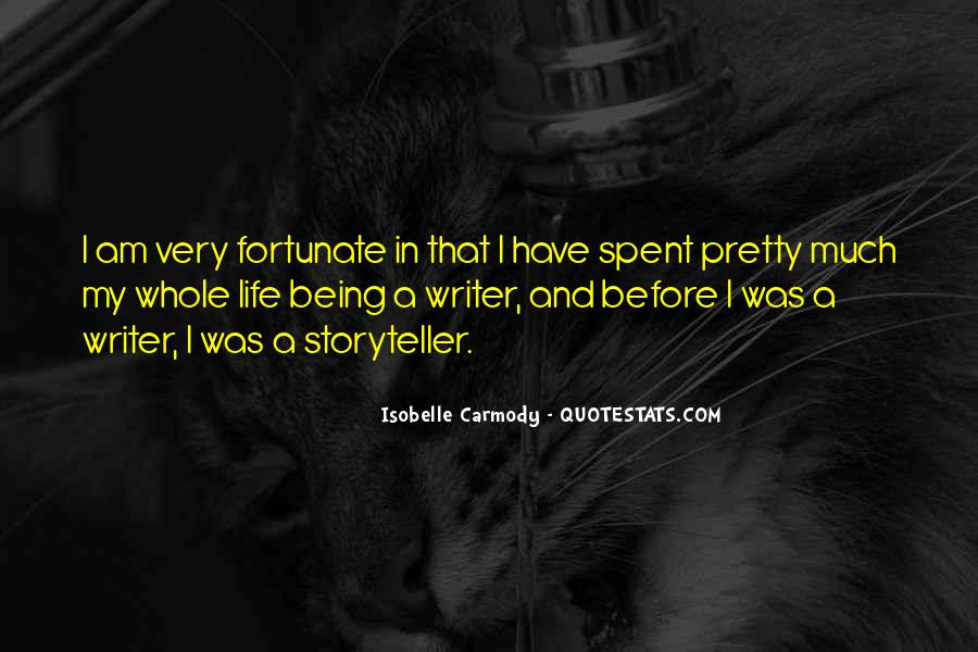 Quotes About A Writer's Life #196662