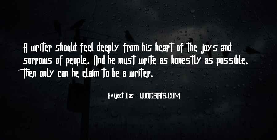 Quotes About A Writer's Life #204021