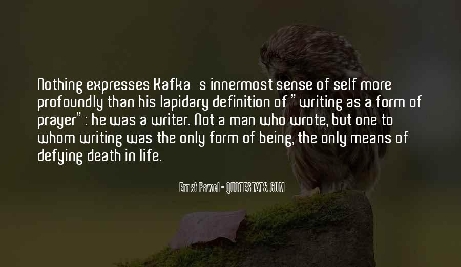 Quotes About A Writer's Life #204289