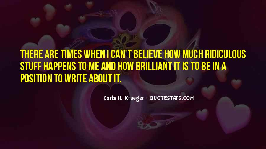 Quotes About A Writer's Life #21668
