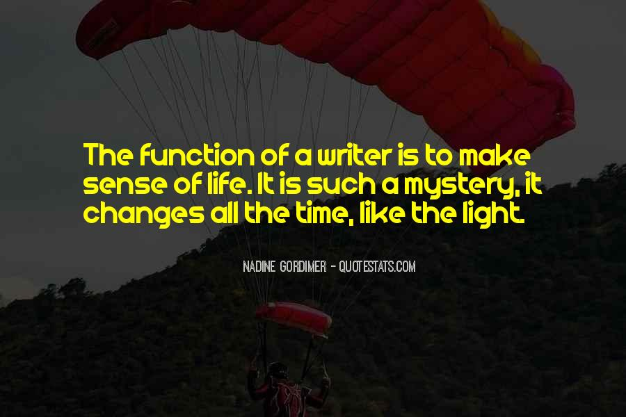 Quotes About A Writer's Life #41148