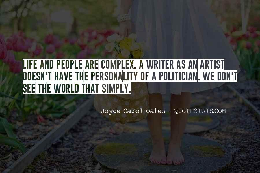Quotes About A Writer's Life #41267