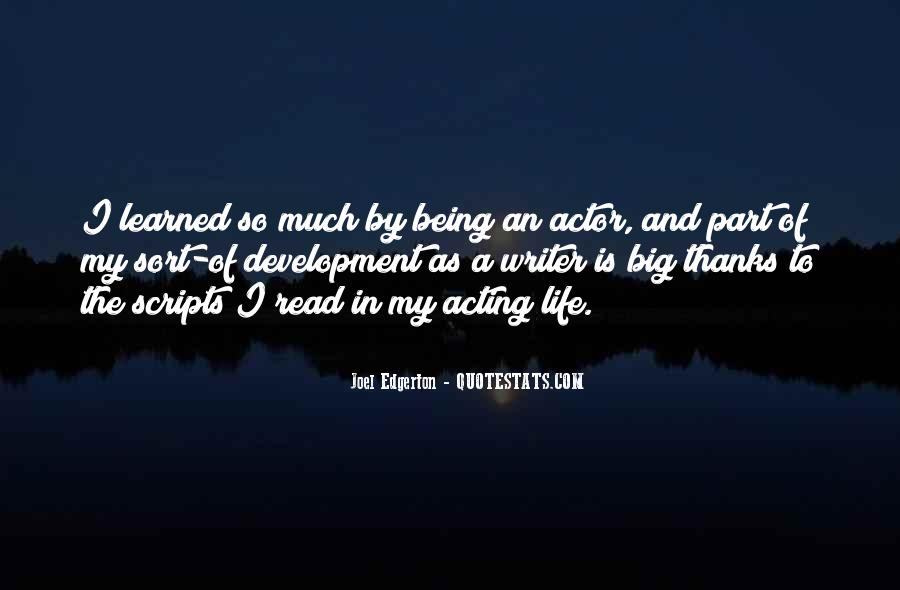 Quotes About A Writer's Life #42249