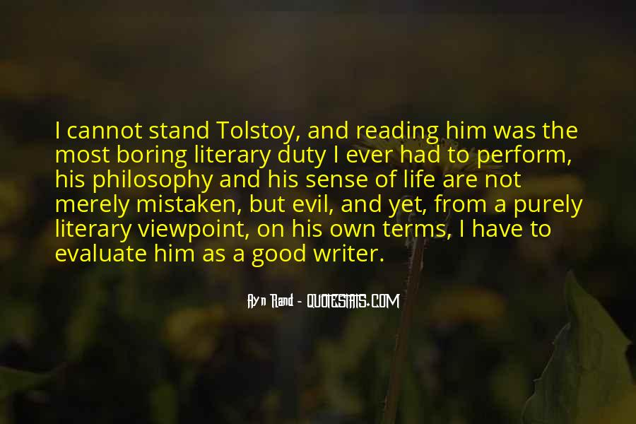 Quotes About A Writer's Life #52578