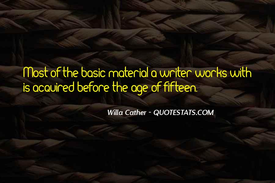 Quotes About A Writer's Life #69576