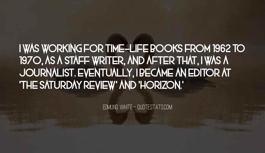 Quotes About A Writer's Life #7869