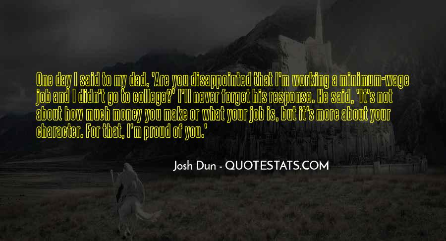 Quotes About Not Working For Money #1217139