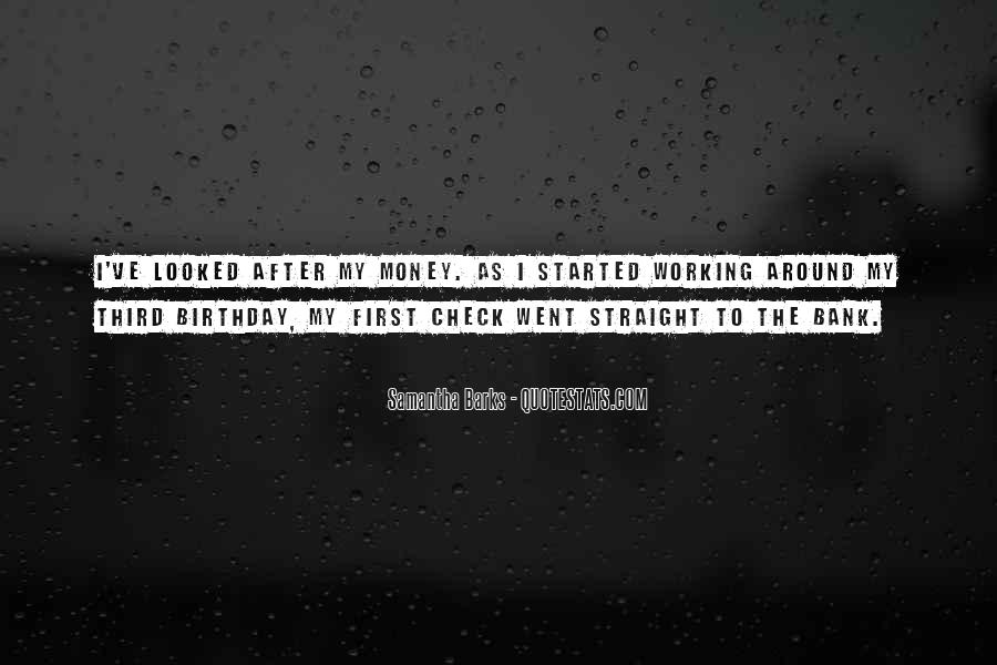 Quotes About Not Working For Money #155774