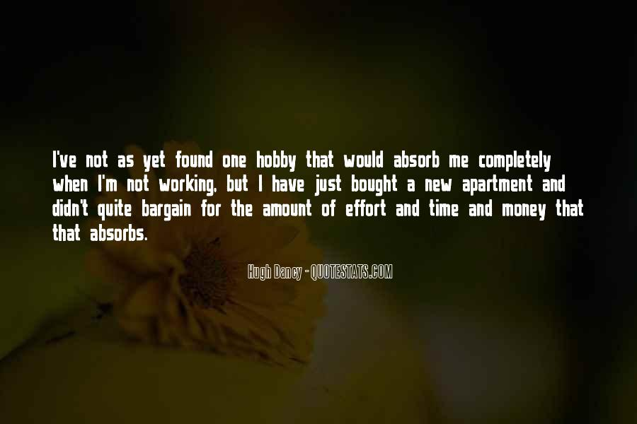Quotes About Not Working For Money #1647010