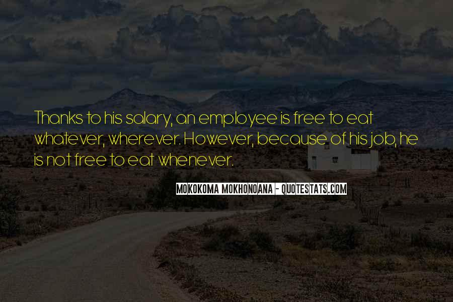Quotes About Not Working For Money #171111
