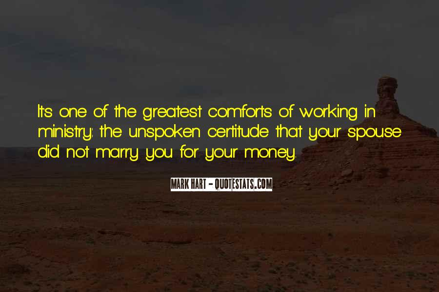 Quotes About Not Working For Money #175963