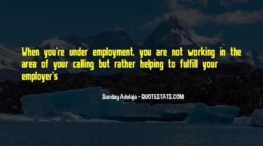 Quotes About Not Working For Money #231697
