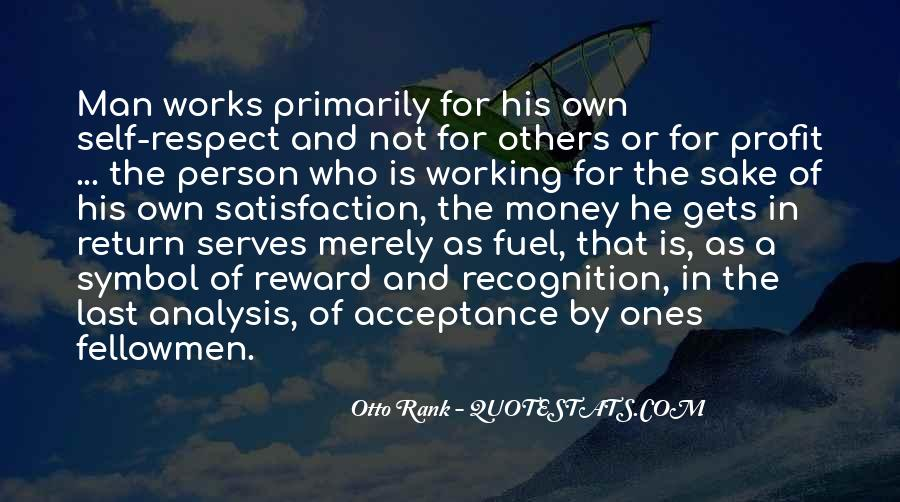 Quotes About Not Working For Money #294440