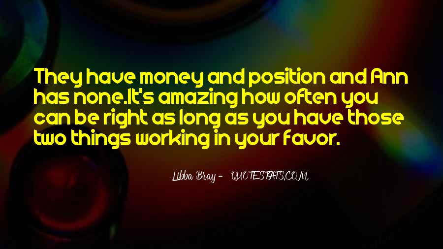 Quotes About Not Working For Money #42659
