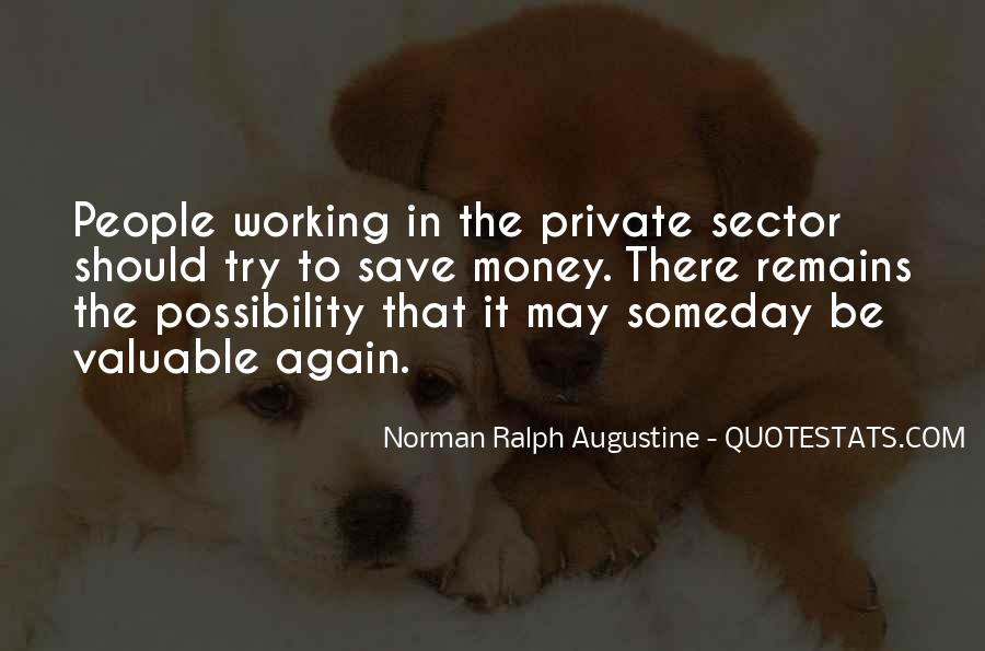 Quotes About Not Working For Money #4560